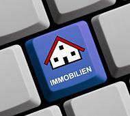 Immobilientaste auf Tastatur - Immobilienberatung bei spiritimmobilien.com, Berlin